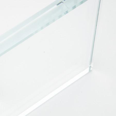 vidrio de borosilicato transparente