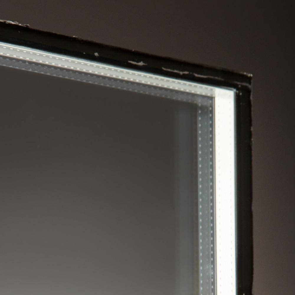 vidrio con camara de aire transparente