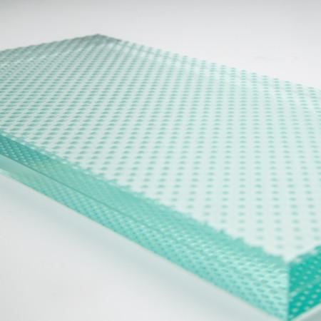 vidrio Laminado antideslizante dot 10+10mm
