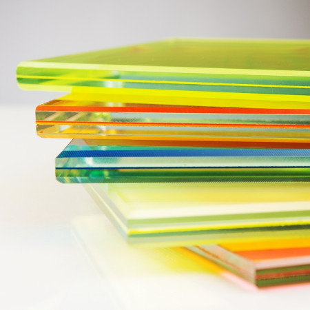 vidrio laminado colores