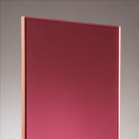 vidrio laminado rojo