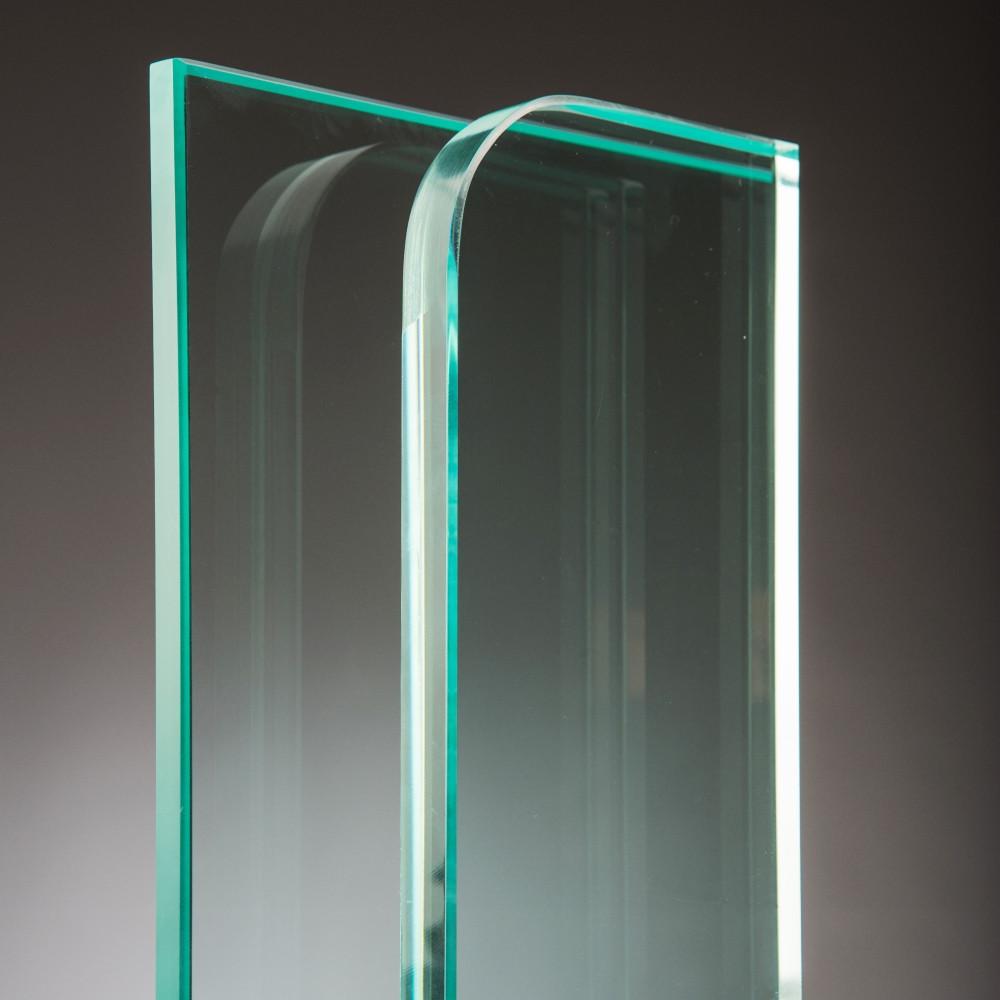 vidrio templado transparente