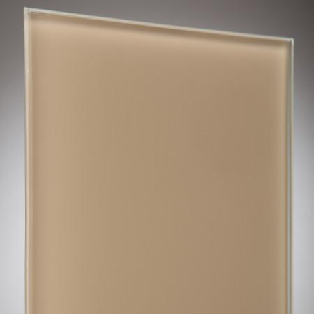vidrio monolitico Lacobel Marron claro (Light Brown) RAL-1236