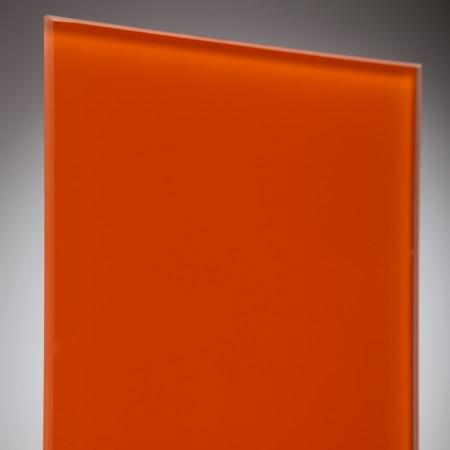 vidrio monolitico Lacobel Naranja RAL-2001