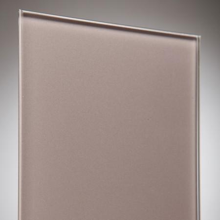 vidrio monolitico Lacobel Marron oscuro (Dark Brown) RAL-8017