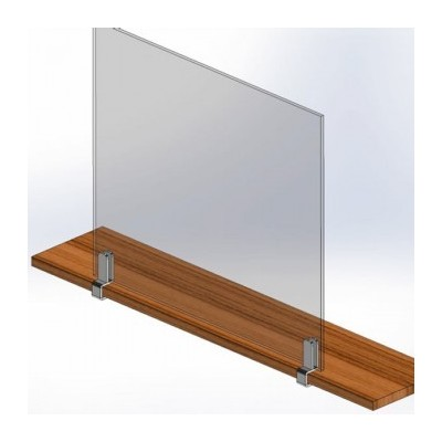COVID protection Glass