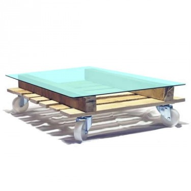 Glass table Pallet