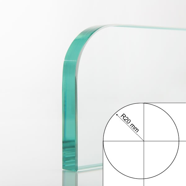 Round radius 20 mm