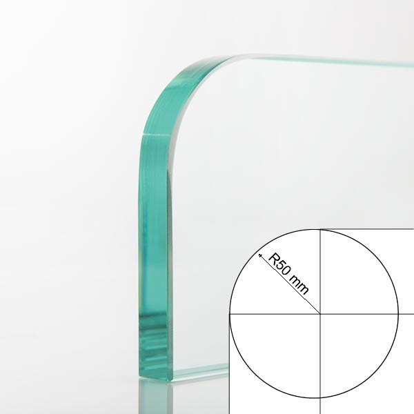 Round radius 50 mm