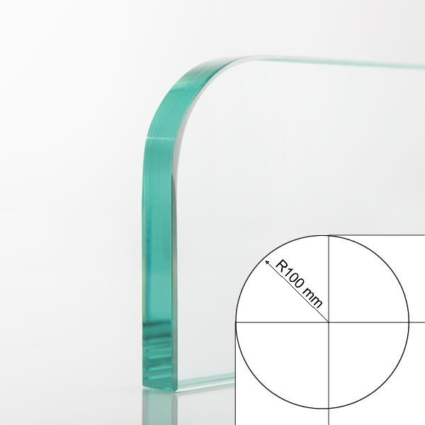 Round radius 100 mm